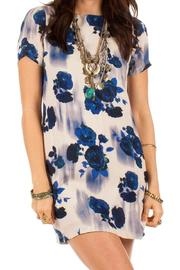 White Crow Floral Sheath Dress - Product Mini Image