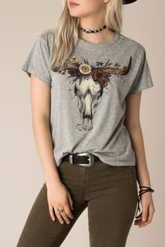 Shoptiques Product: Flowers N'bones Shirt