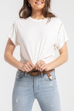 White Crow Garza Knit Top - Product List Image