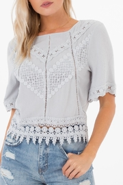 White Crow Gracie Crochet Top - Product Mini Image