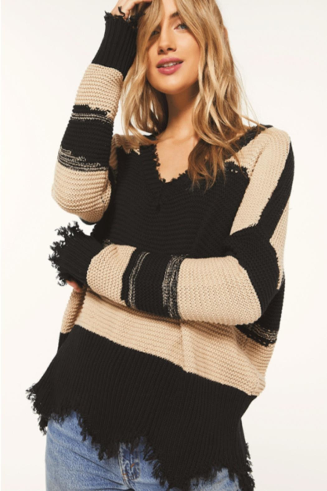 White Crow Hope Sweater - Front Cropped Image