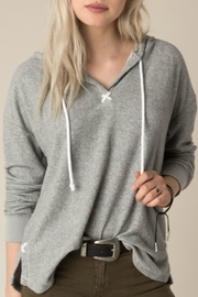 White Crow Memory Hooded Pullover - Front cropped