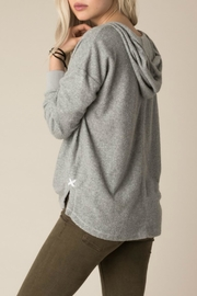 White Crow Memory Hooded Pullover - Front full body