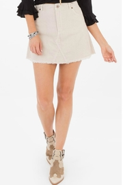 White Crow Penny Corduroy Skirt - Product Mini Image