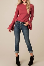 White Crow Salem Bell Top - Front cropped