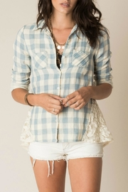 White Crow Lace Detail Shirt - Product Mini Image