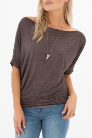 White Crow Sierra Boatneck Top - Front cropped