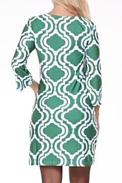 White Mark Pattern Tunic Dress - Alternate List Image
