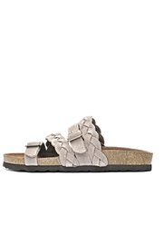 white mountain Crossband Footbed Sandal - Product Mini Image