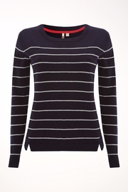 White Stuff Navy Meadow Sweater - Product Mini Image