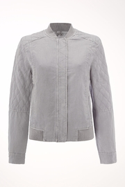 White Stuff Staple Bomber Jacket - Front cropped