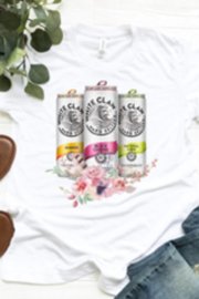 Midwest Tees Whiteclaw Floral Tee Shirt - Product Mini Image