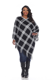 WhiteMark 's Plus Size Dakota Poncho - Product Mini Image