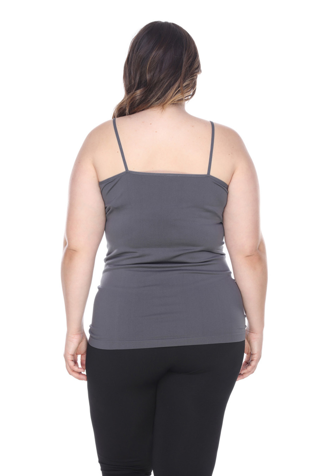 WhiteMark 's Plus Size Tank Top - Front Full Image