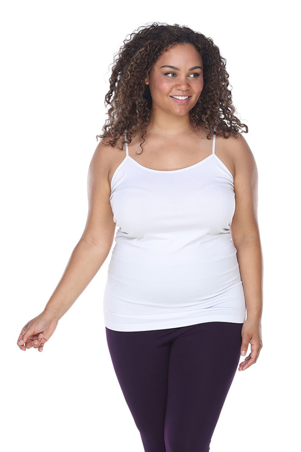 WhiteMark 's Plus Size Tank Top - Front Cropped Image
