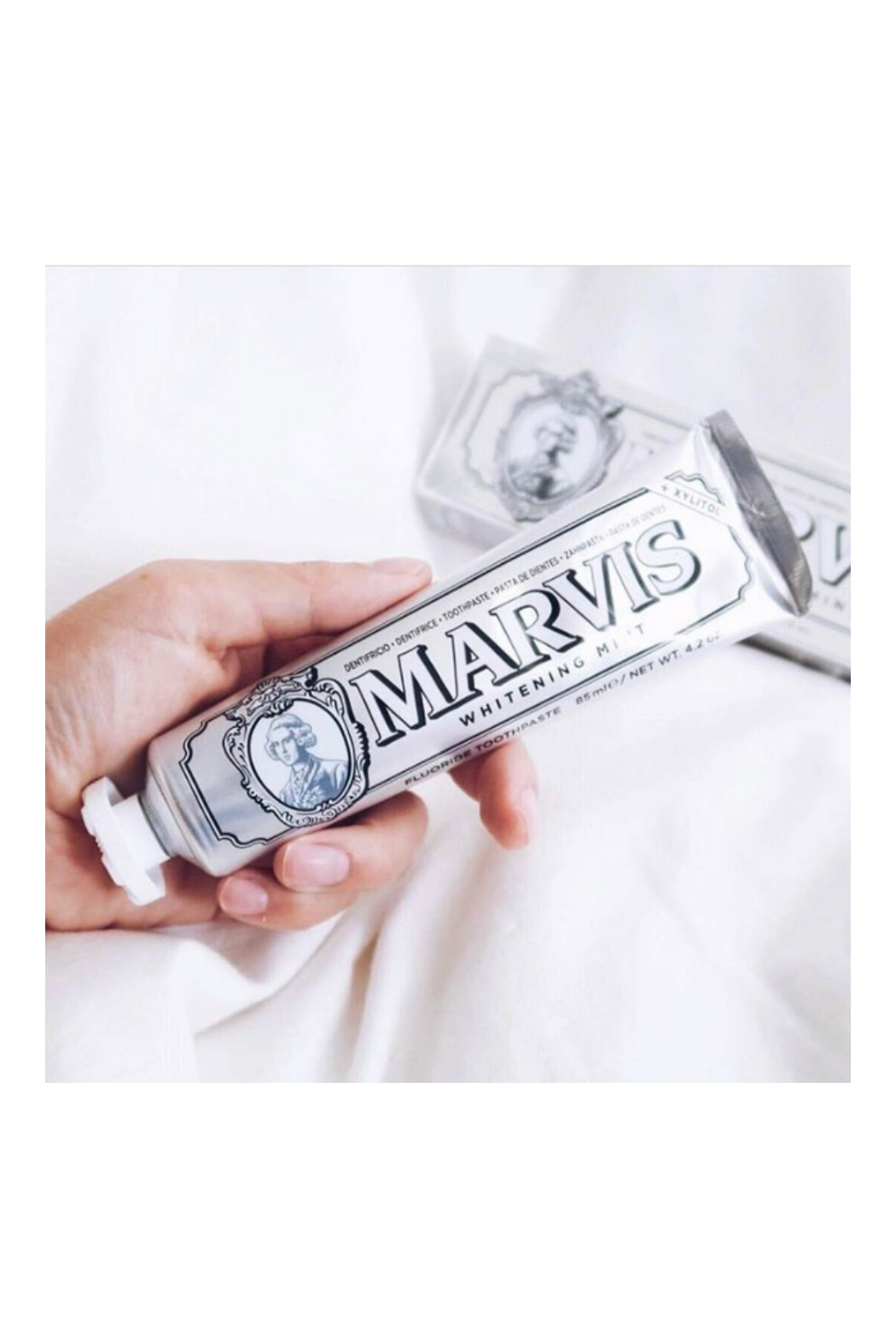 Marvis Whitening Mint Toothpaste - Front Full Image