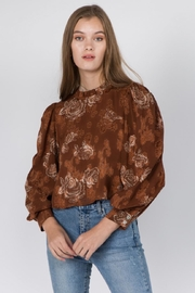 Whiteroom Cactus Floral Top - Product Mini Image