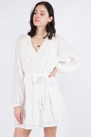 Whiteroom Cactus Long-Sleeve White Dress - Product Mini Image