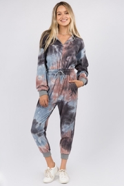 Whiteroom Cactus Tie Dye Jumpsuit - Front cropped
