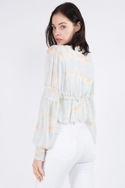 Whiteroom Cactus Tie Dye Top - Side cropped
