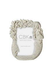 Midwest/CBK Whitewash Mermaid Frame - Product Mini Image