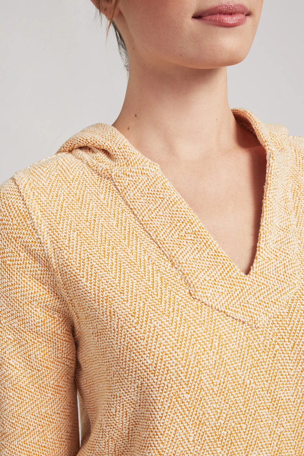 Faherty Whitewater Baja Hoodie - Side Cropped Image
