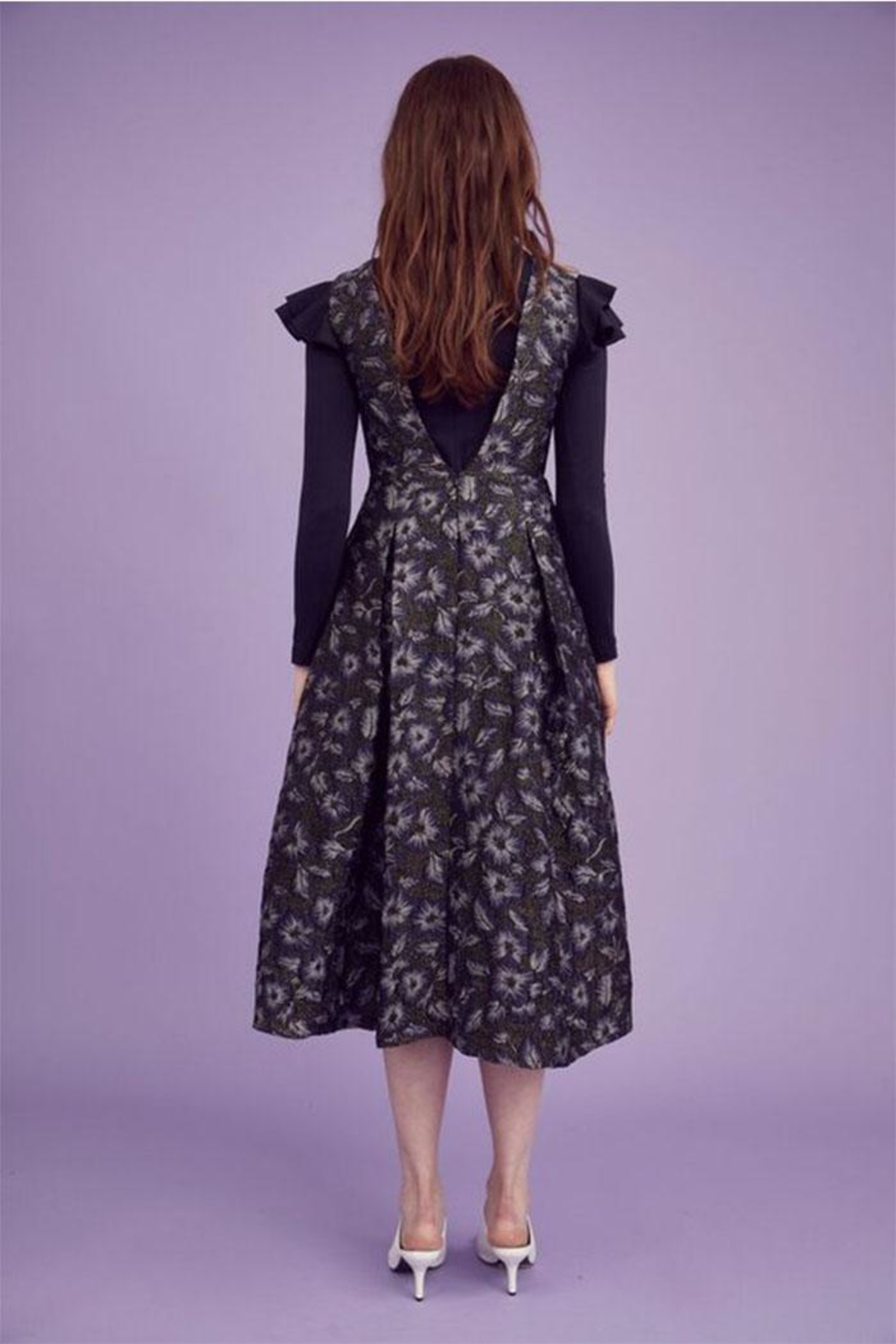 Hunter Bell New York Whitley Floral Dress - Side Cropped Image