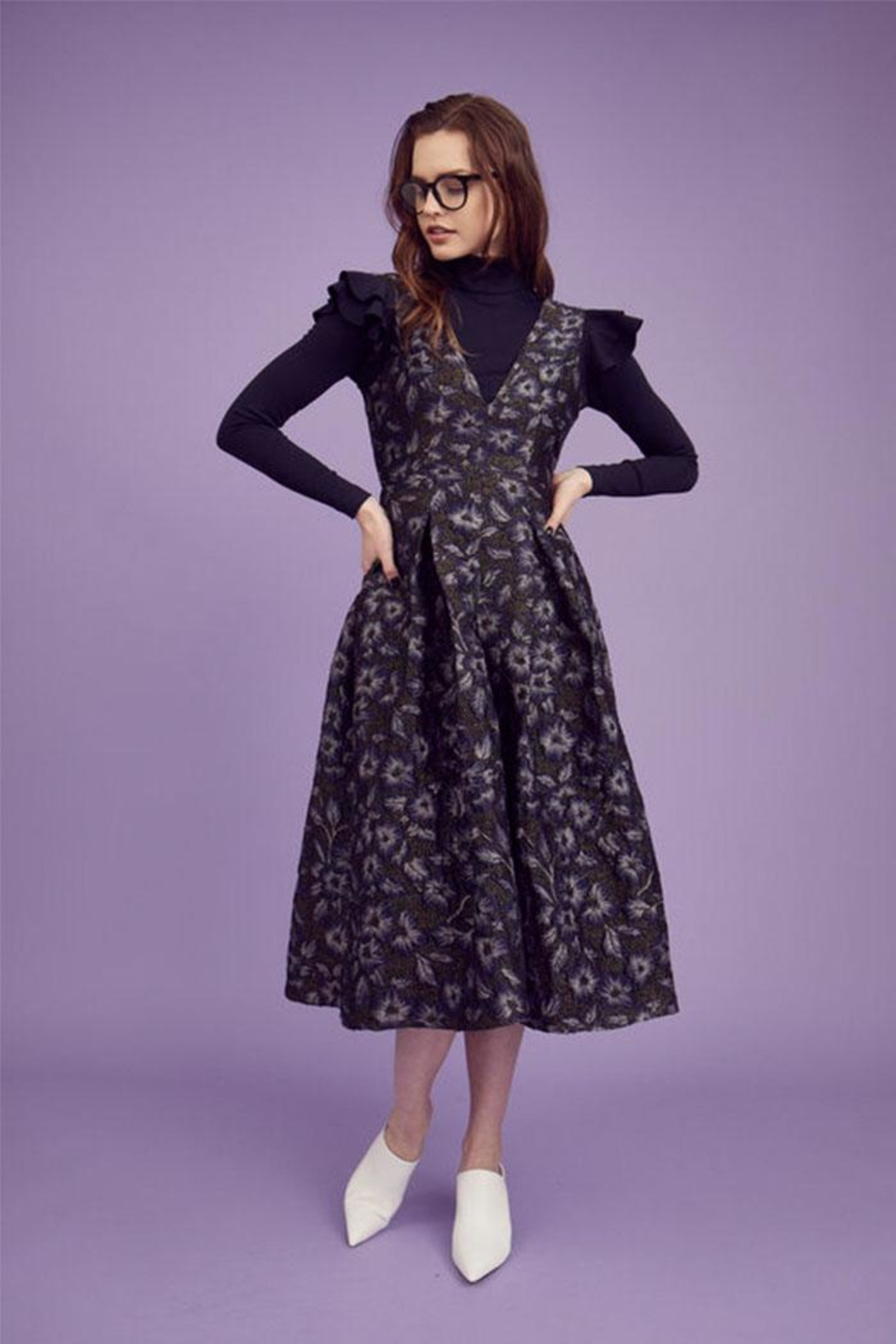 Hunter Bell New York Whitley Floral Dress - Main Image