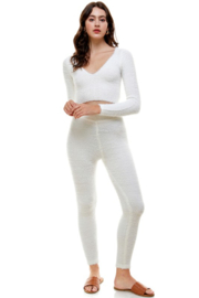 ACOA Whitney Fuzzy Leggings - Product Mini Image