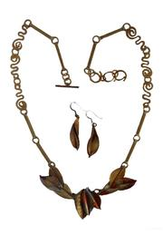 Whitney Designs Copper Necklace Set - Product Mini Image