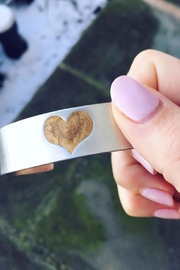 Whitney Howard Designs Gold Heart Bracelet - Product Mini Image