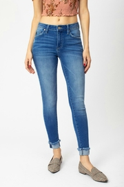 Kan Can WHITTNEY CUFF SKINNY - Front cropped