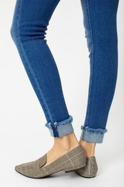 Kan Can WHITTNEY CUFF SKINNY - Back cropped