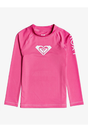 Roxy Whole Hearted Long Sleeve Rash Guard - Front cropped