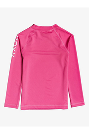 Roxy Whole Hearted Long Sleeve Rash Guard - Front full body