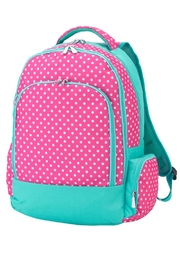 Wholesale Boutique Dottie School Backpack - Product Mini Image