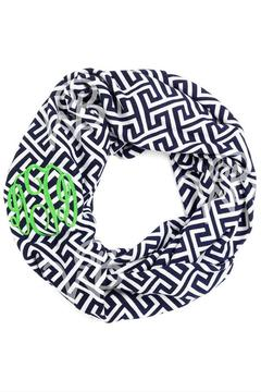 Wholesale Boutique Monogrammed Infinity Scarf - Product List Image