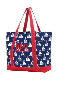 Wholesale Boutique Monogrammed Sail-Away Tote - Product List Image