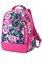 Wholesale Boutique Posie Floral Backpack - Product Mini Image