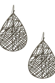 Its Sense Multi-Lined Teardrop Earrings - Product Mini Image