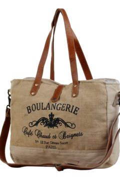 Myra Bag  WHOLESOME ORGANIC FABRIC MARKET BAG - Alternate List Image