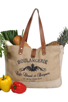Myra Bag  WHOLESOME ORGANIC FABRIC MARKET BAG - Product List Image