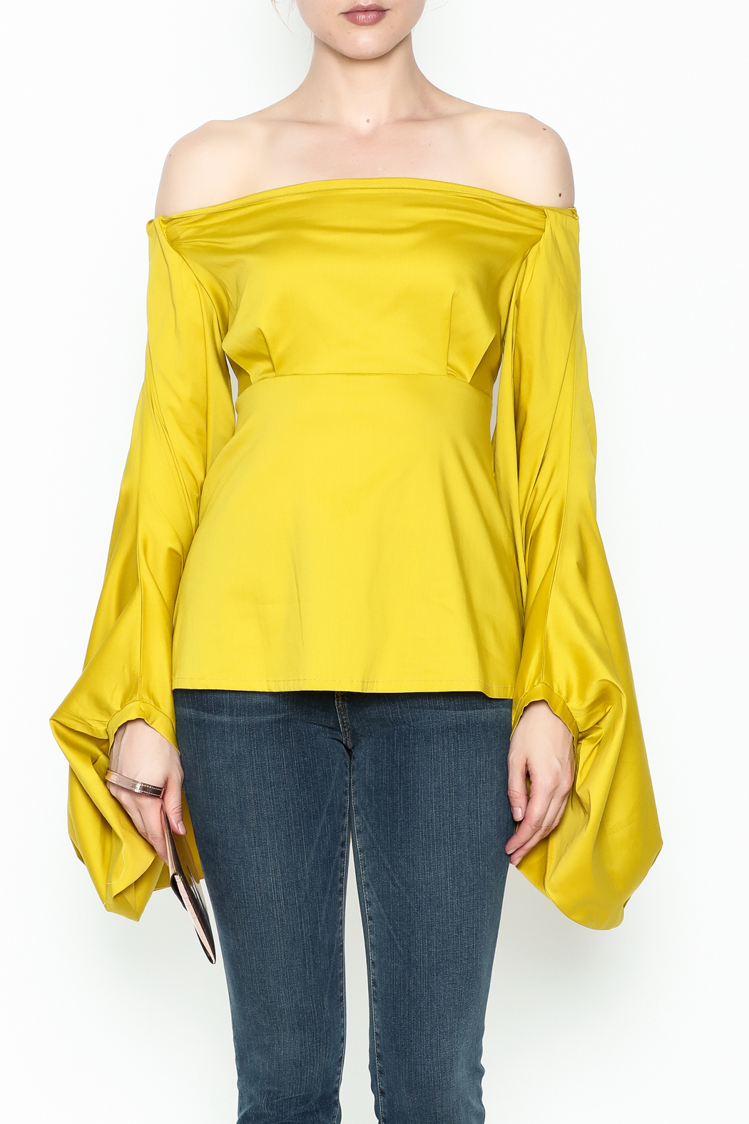 WHY DRESS Spice Bell Sleeve Top - Front Full Image
