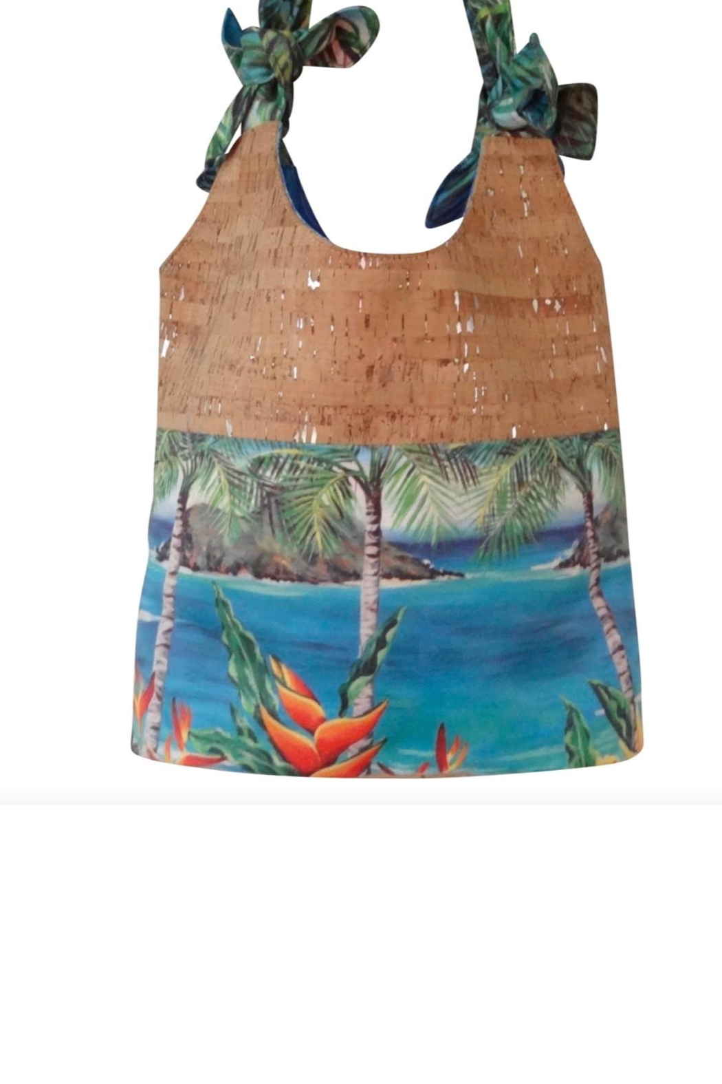 'olu'olu By Bliss Hawaii Why Knot Cork-Bag - Front Full Image
