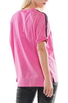 WHY DRESS Pink Graphic Tee - Alternate List Image