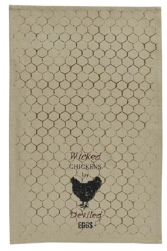 Park Designs Wicked Chickens Dish Towels - Alternate List Image