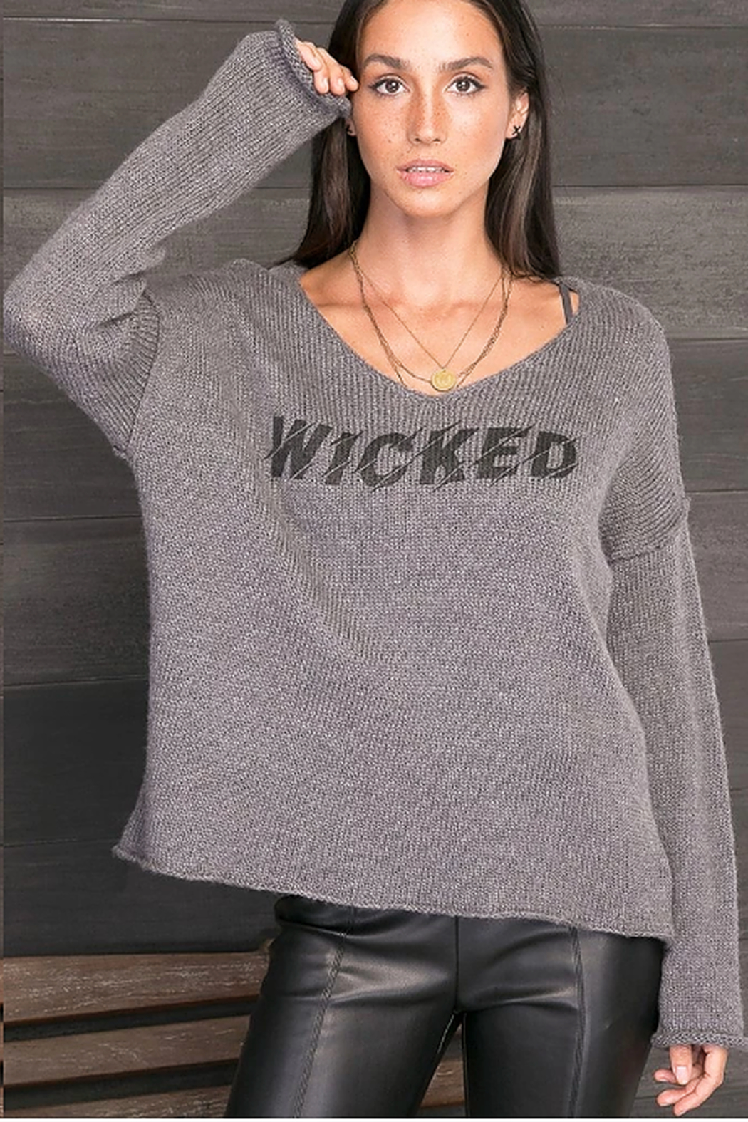 Wooden Ships Wicked Sweater - Front Full Image