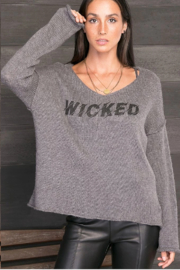 Wooden Ships Wicked Sweater - Front full body