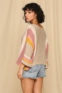 By Together  Wide arm lightweight sweater - Product List Image
