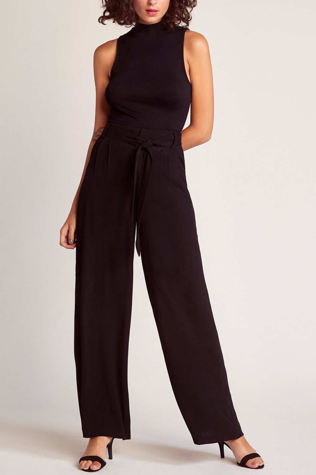 BB Dakota Wide At Heart Pant - Front Cropped Image